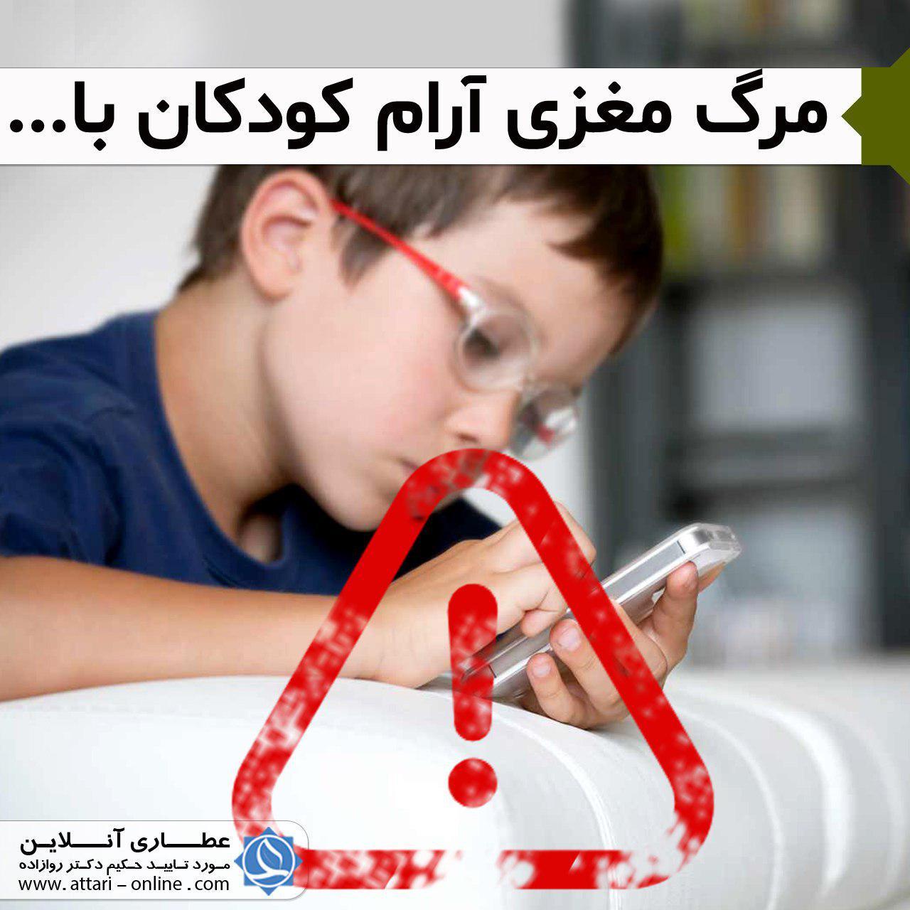 photo 2019 01 06 16 13 38 مرگ آرام مغزی کودکان با موبایل