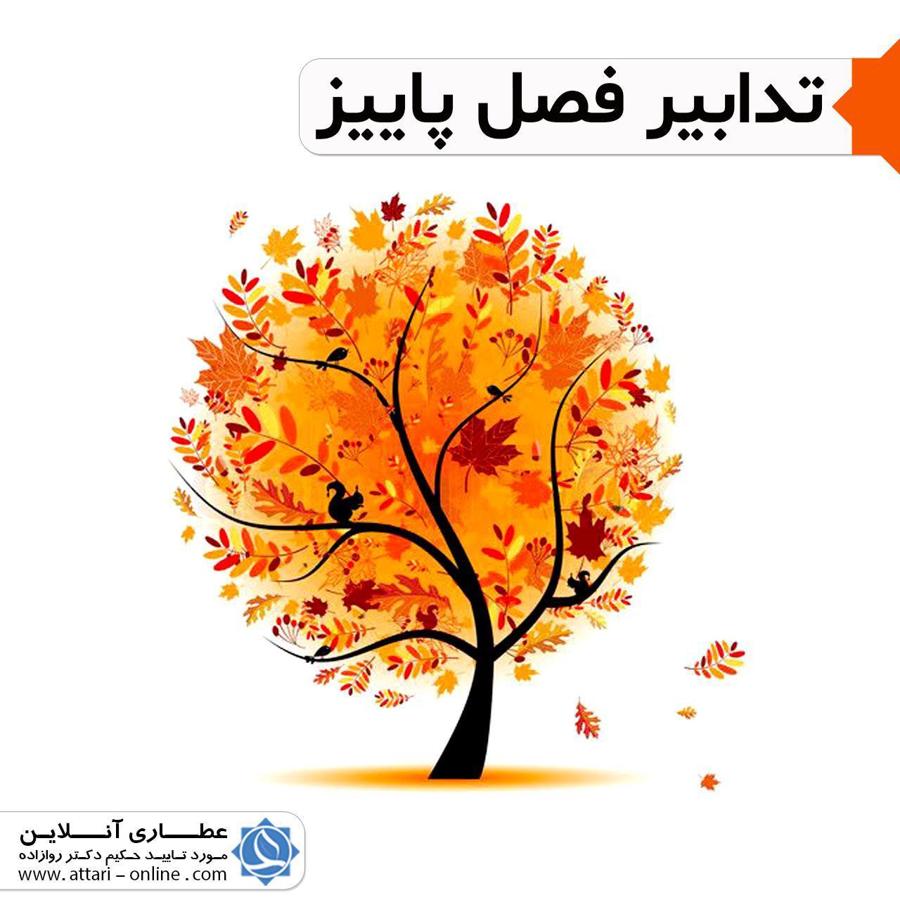 پاییزک25 تدابیر و توصیه های فصل پاییز